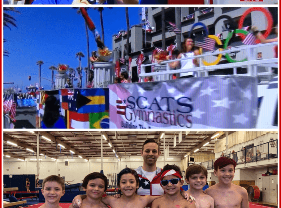 SCATS Wins Silver in 16th Year of HB 4th of July Parade